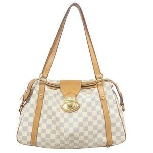 💯 Auth Louis Vuitton Stresa PM Shoulder Bag